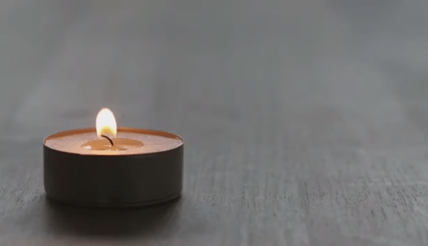 Tealight Burning